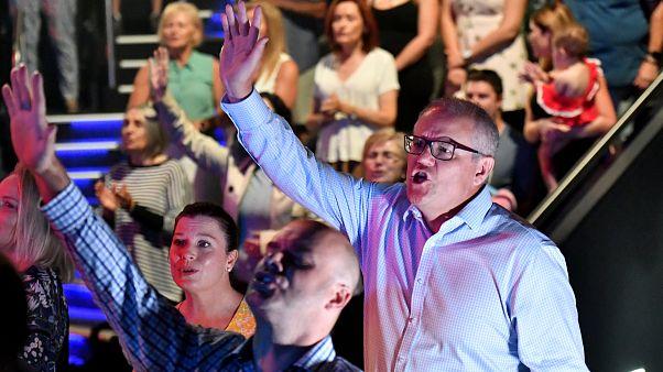 Avustralya Başbakanı Morrison seçim kampanyasını sandığa bir hafta kala başlattı