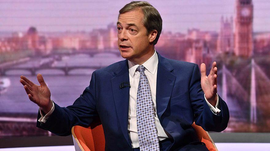 Partido de Nigel Farage lidera sondagens para europeias