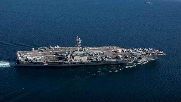 فرمانده هوافضای سپاه: ناو هواپیمابر آمریکایی در خلیج فارس تهدید نیست فرصت است
