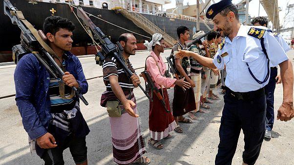 BM: Yemen'de Husiler hayati önem taşıyan Hudeyde Limanı'ndan çekilmeye başladı