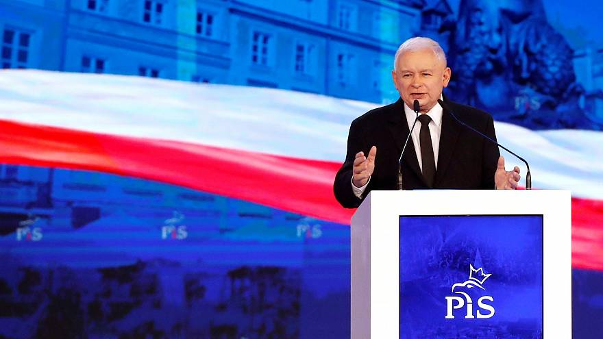 PiS leader Jarosław Kaczyński who filed a law suit against Sadurski.