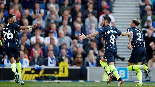 İngiltere Premier Lig'de şampiyon 1 puan farkla Manchester City