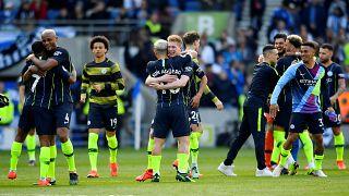 مانشستر سيتي يحتفظ بلقب الدوري الإنجليزي الممتاز