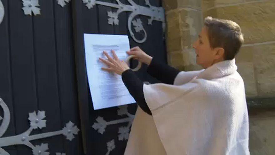 """""""Greve da igreja"""" com o lema """"Maria 2.0"""""""