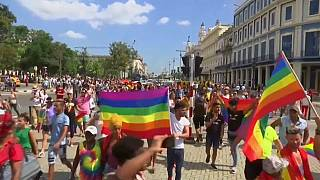 Gay rights march halted by Havana police