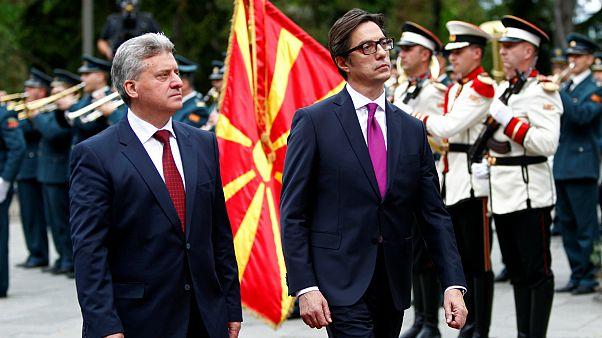 مراسم تحلیف ریاست جمهوری مقدونیه شمالی برگزار شد