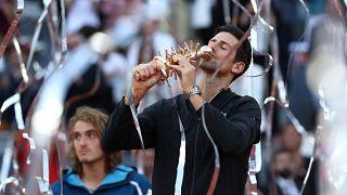 Madrid Open: Ο Τζόκοβιτς λύγισε τον Στέφανο Τσιτσιπά