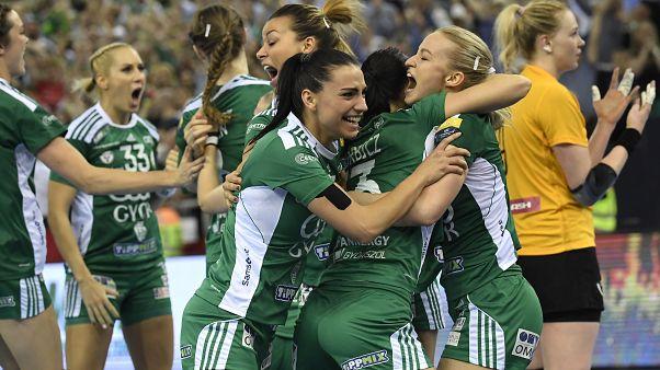 A Győr nyerte a női kézilabda Bajnokok Ligáját