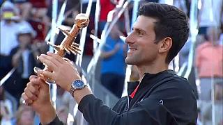 Novak Djokovic égale un record à Madrid