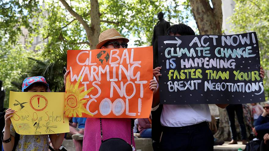 """Proteste """"ambientali"""" in molte città europee per il futuro del Pianeta Terra"""