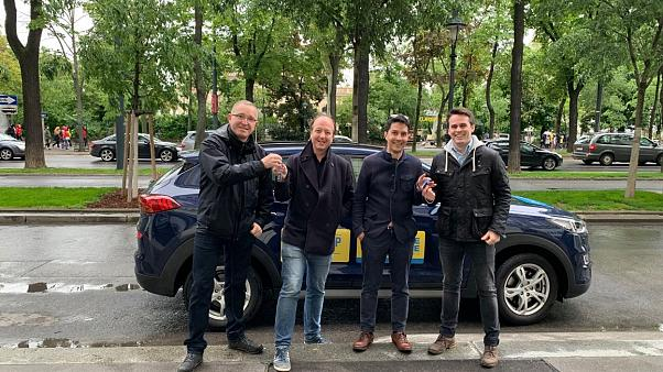 #EUroadtrip: Fahrerwechsel in Wien