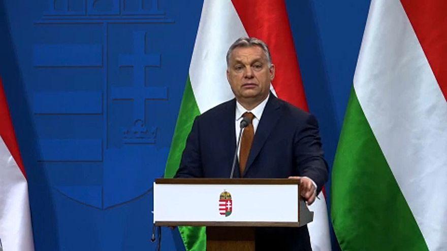 Виктор Орбан в Белом доме