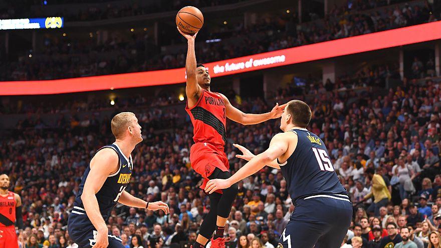 NBA Batı Konferansında finalin adı: Golden State Warriors - Portland Trail Blazers