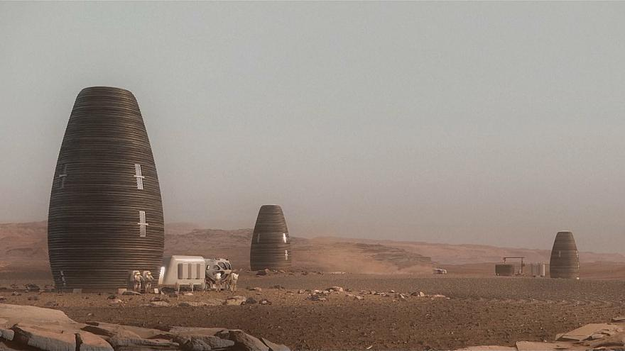 شاهد: بيت لرواد الفضاء على كوكب المريخ يحصد جائزة قدرها نصف مليون دولار