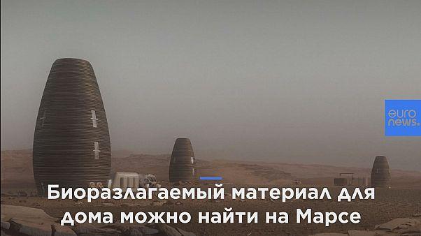 Нью-йоркские дизайнеры напечатали лучший дом для жизни на Марсе