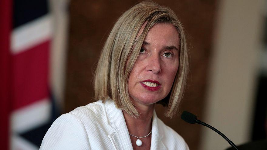 موغيريني: الاتحاد الأوروبي يدعم الاتفاق النووي ويريد تجنب التصعيد بشأن إيران