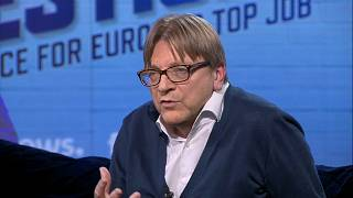 Watch again: 'I don't want a superstate' says Verhofstadt