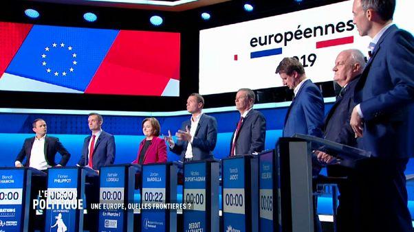 Lendületben a francia EP-kampány