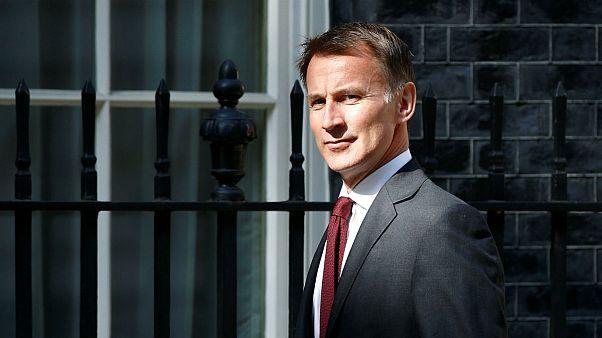 جرمی هانت، وزیر امور خارجه بریتانیا