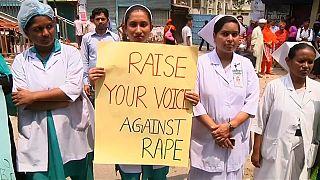 Акции протеста против насилия над женщинами