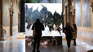 Shock, intrigue and controversy at Venice Biennale, as theme asks artists to reflect on politics