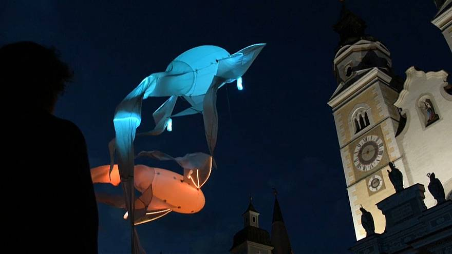 Installations on the theme of water highlighted climate change