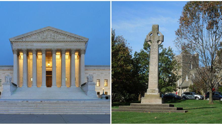 صليب يوقع المحكمة العليا الأمريكية في معضلة قانونية
