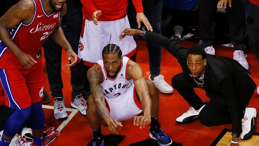NBA : Kawhi Leonard propulse les Raptors en finale à l'Est