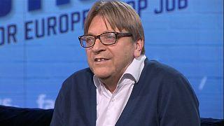 """Guy Verhofstadt: """"Sou contra um super Estado europeu"""""""