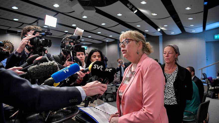 ممثلة الادعاء في السويد إيفا-ماريا بيرسون
