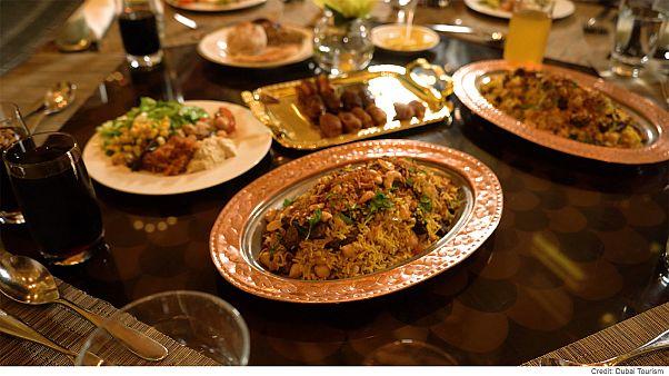 Поздний ужин Рамадана