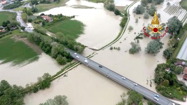 Maltempo in Italia: allerta rossa in Romagna
