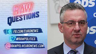 Ο Γιαν Ζαχράντιλ στο euronews