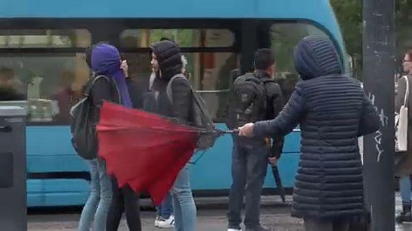 Βαλκάνια: Τα τερτίπια του καιρού