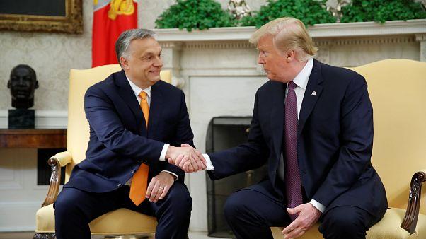 """""""Kemény, de tiszteletreméltó embernek"""" nevezte Trump Orbánt"""