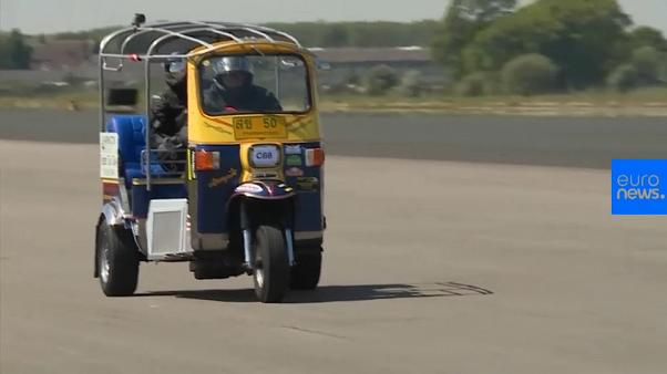 World speed record for Tuk Tuk broken in England