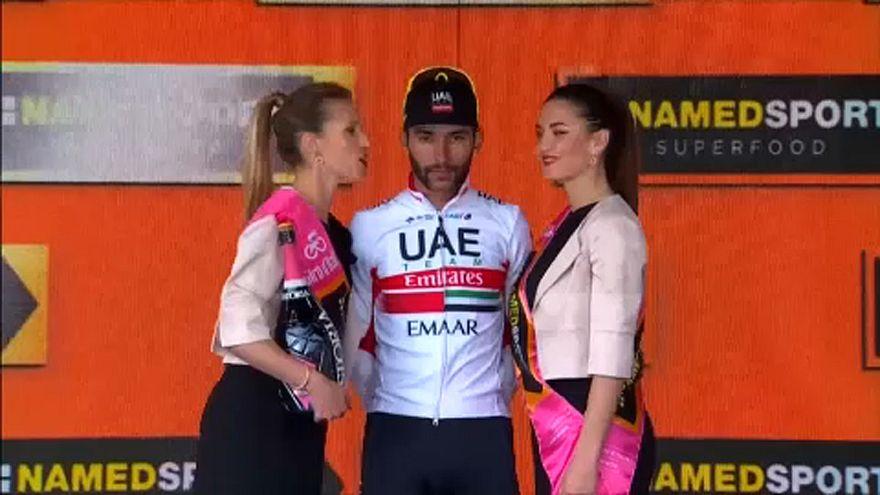 Giro: Gaviria nyerte a 3. szakaszt, de Viviani volt a leggyorsabb