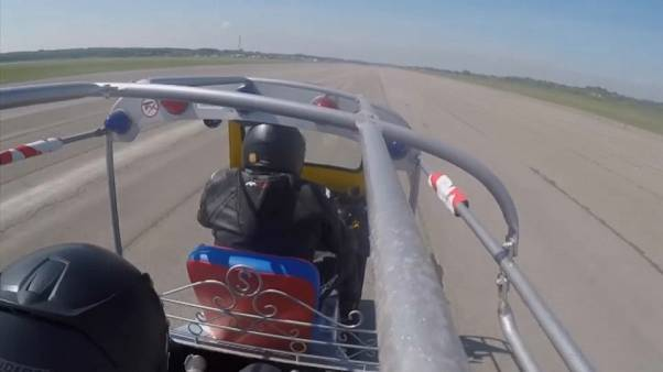 UK: Vehicle breaks world Tuk Tuk speed record