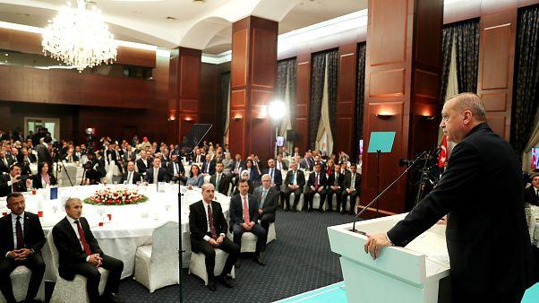 Erdoğan: Sandık kurul üyeleriyle ilgili yanlış bizim için fırsat oldu