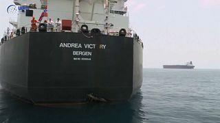 شاهد: حجم الضرر الذي أصاب السفن السعودية بمياه الإمارات