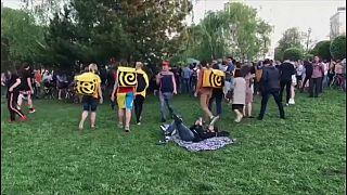 Жители Екатеринбурга вышли на стихийную акцию протеста
