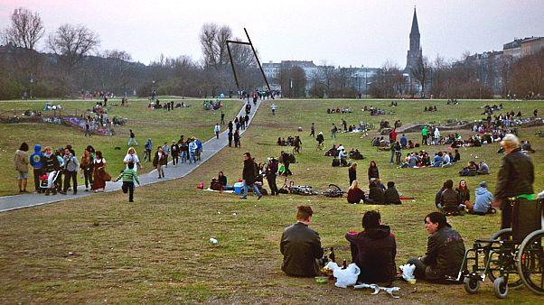 В берлинском парке появились зоны для торговли наркотиками