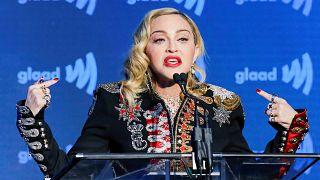 مدونا با وجود مخالفتها در فینال یوروویژن در تل آویو برنامه اجرا میکند