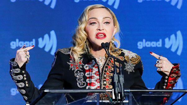 Madonna llega a Israel para actuar en Eurovisión