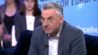 Watch again: EU should side with Trump on Iran, says Zahradil