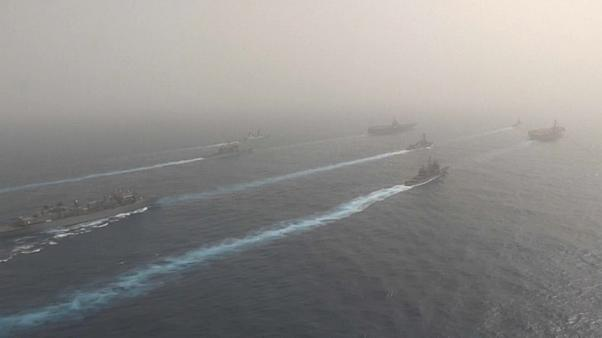 España retira una fragata del grupo de combate de EEUU