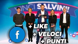 'Win Salvini': Italy's Deputy PM launches social media game show | #TheCube