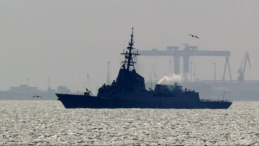 Image result for اسپانیا؛ ناو خود را از گروه ضربت دریایی آمریکا در خلیج فارس خارج کرد