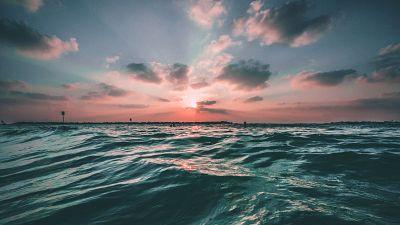 Deep ocean views