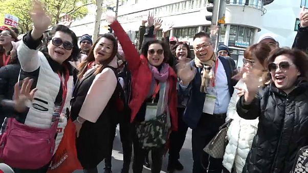 Reisegruppe: 12.000 Chinesen in Luzern